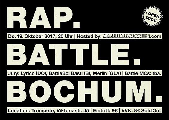 Rap. Battle. Bochum
